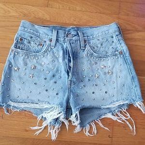Womens Levi's 501 Premium Shorts